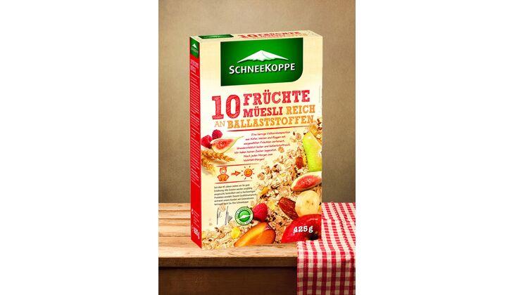 10-Früchte-Müesli von Schneekoppe