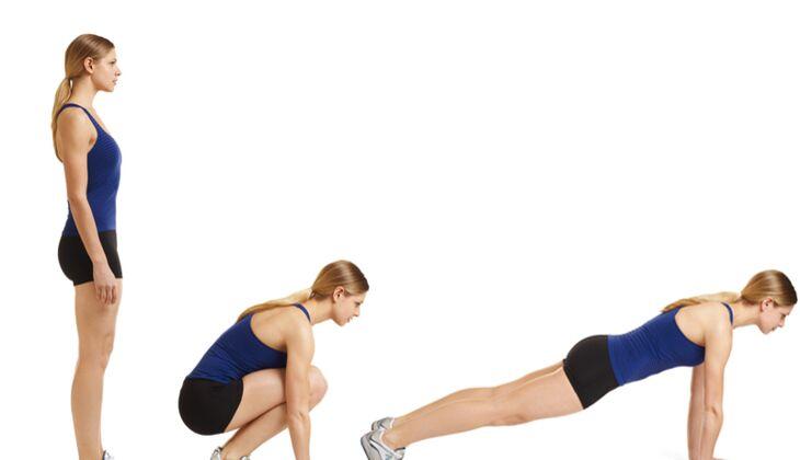 15 Minuten Po-Workout: Von Stand zu Stütz