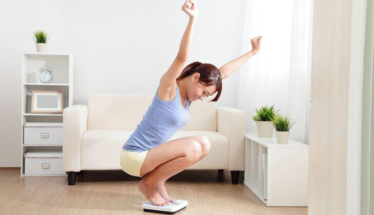 Abnehmen wirkt auf den Körper wie eine Glücksdroge