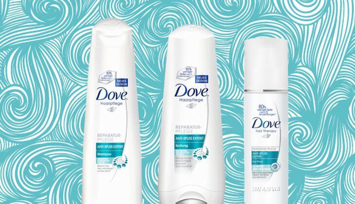 Anti-Spliss Pflegeserie von Dove
