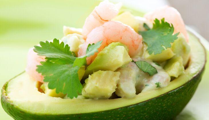 Avocado-Krabben-Salat