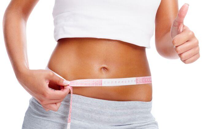 Bauch- und Hüftspeck bei 45% geschmolzen