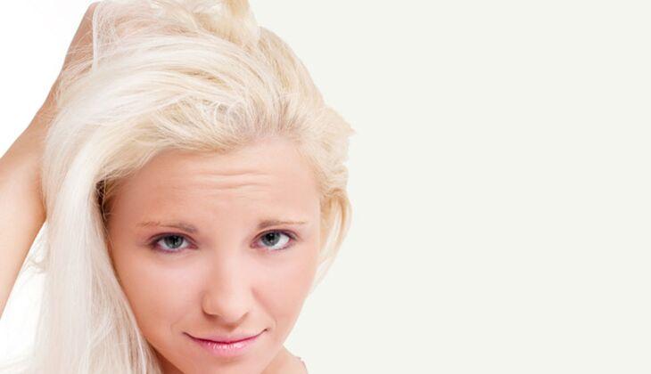 Beauty-Sünde: Misslungene Blonierung