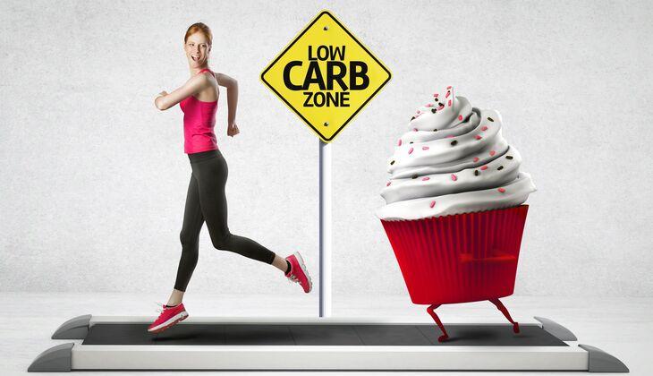 Bei einer Low Carb-Ernährung haben Gebäckteilchen mit vielen Kohlenhydraten keine Chance