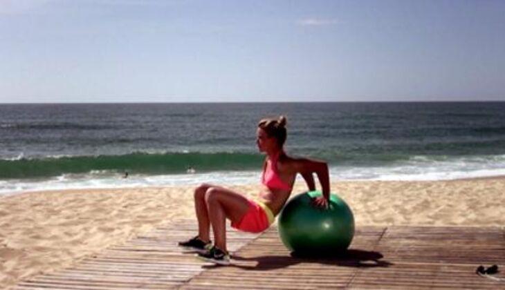 Bikini-Workout: Trizeps-Dip