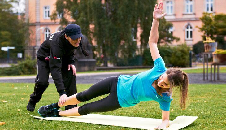 Bootcamp-Instructor Viktoria weiß, wie man Menschen dazu bringt, körperliche Grenzen zu überschreiten