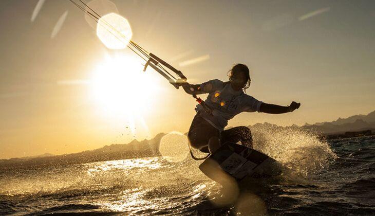 Brasilien ist der liebste Kitespot von Europameisterin Sabrina Lutz
