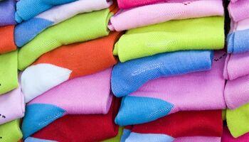 Bunte Socken und Strümpfe