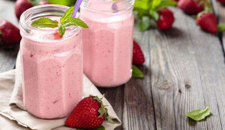 Buttermilch-Aronia-Smoothie