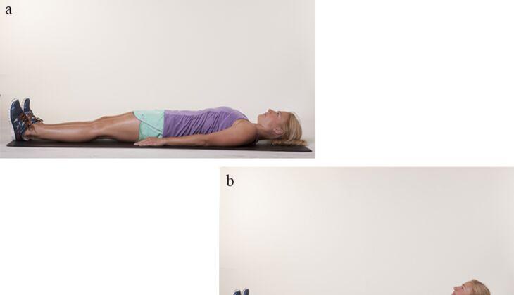 Caja Schöpfs Lieblingsübungen: Kopfheben