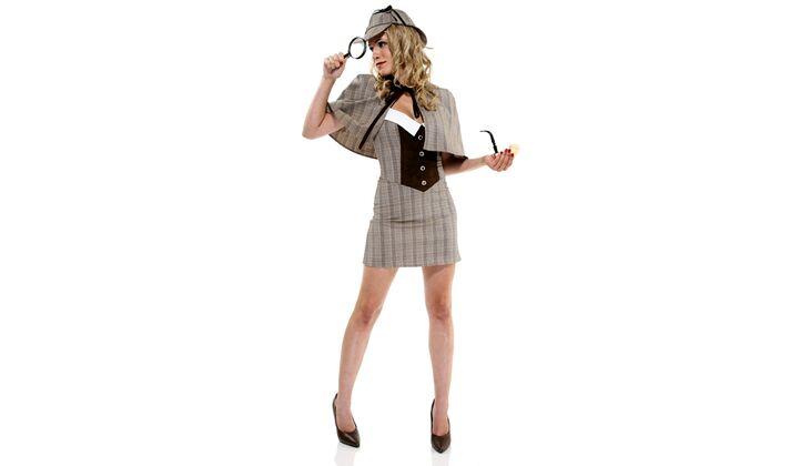 Clevere Schönheit: Sexy Detektivin