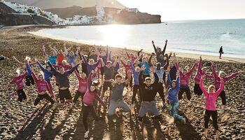 Das ASICS Training Squad auf Fuerteventura
