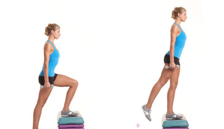 Das Po-Workout: Treppensteigen