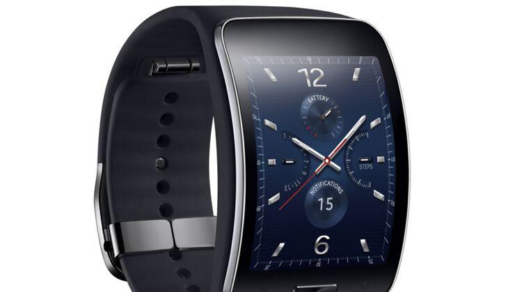 """Die """"Gear S""""-Smartwatch von Samsung"""