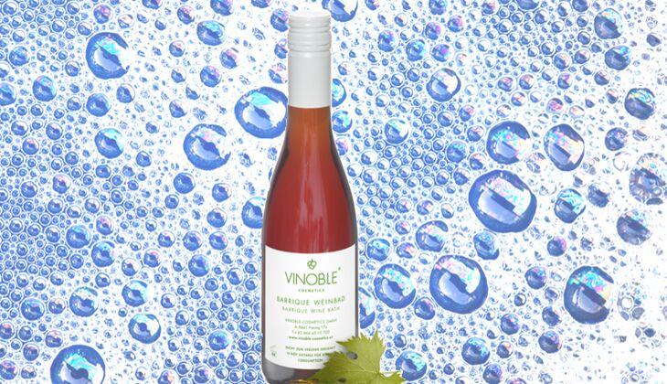 Die besten Badezusätze: Baden Sie im Wein