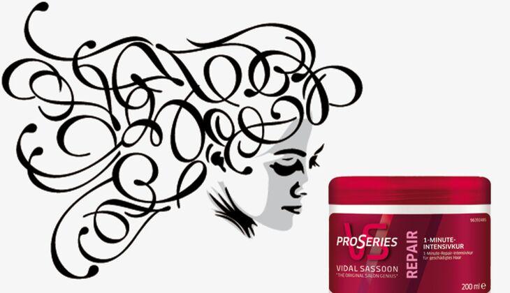Die besten Haarpflegeprodukte: 1 Minute Intensivkur von Pro Series Vidal Sassoon