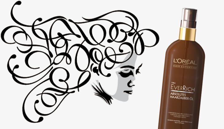 Die besten Haarpflegeprodukte: Ever Rich Haarzauber Öl von L'Oréal Paris