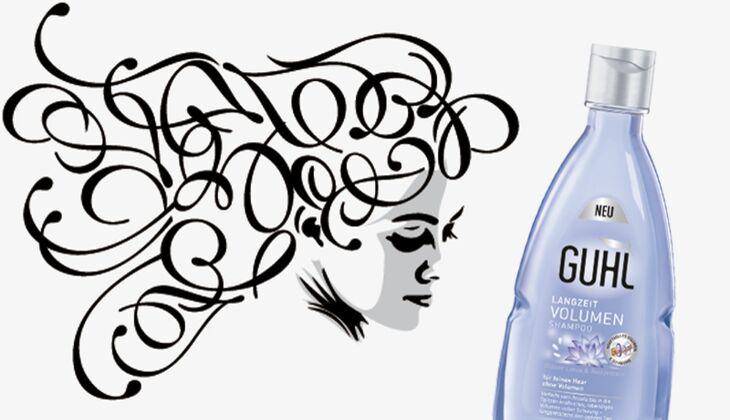 Die besten Haarpflegeprodukte: Guhl Langzeit Volumen Shampoo