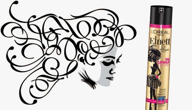 Die besten Haarpflegeprodukte: Haarspray Pro Kreatin von Elnett