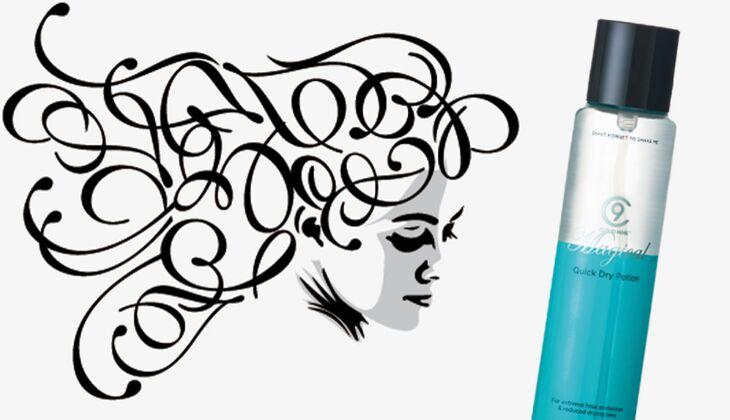 Die besten Haarpflegeprodukte: Magical Quick Dry Potion von Cloud Nine