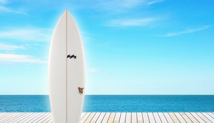 Die coolsten Strand-Tools: Board von Billabong, um 650 Euro