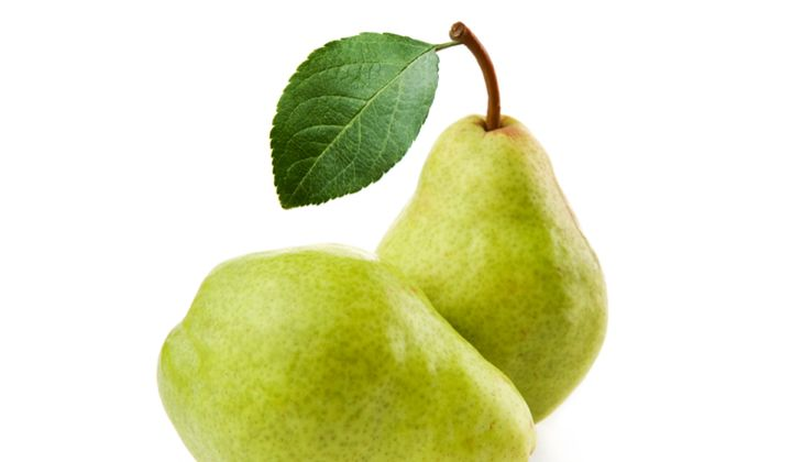 """Die vielen unlöslichen Pflanzenfasern der Birne senken das """"schlechte"""" LDL-Cholesterin"""