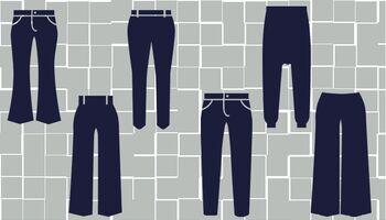 Die wichtigsten Hosenformen im Überblick