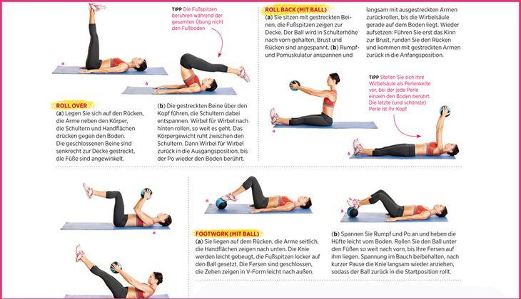Download: Flacher Bauch mit Pilates