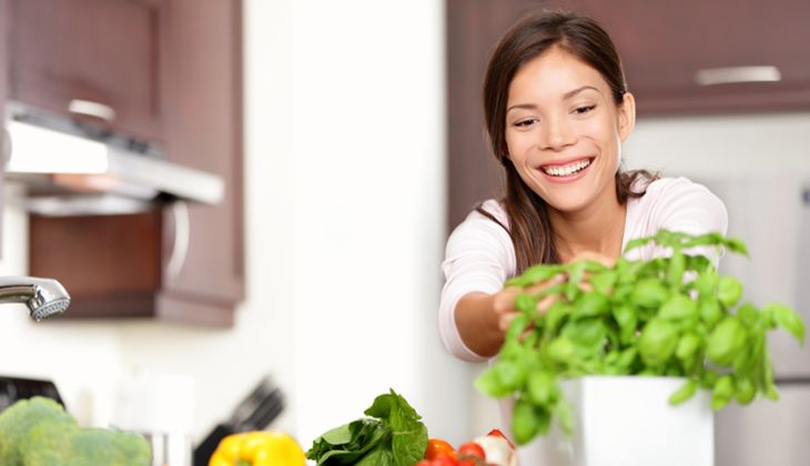Eine ausgewogene Ernährung ist gesund