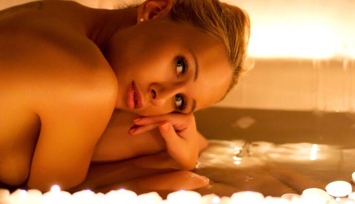 Entspannung für trockene Haut und die Sinne