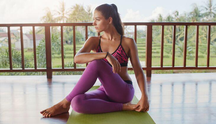 Entspannungs-Workout: vier Übungen gegen Stress