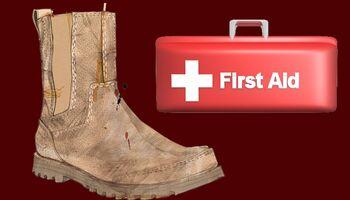 Erste Hilfe für nasse Schuhe