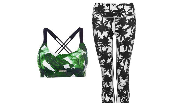 Fashion & Funktion in Kombination: Banana Baby Crop & Palm Paradise Leggings von L'urv