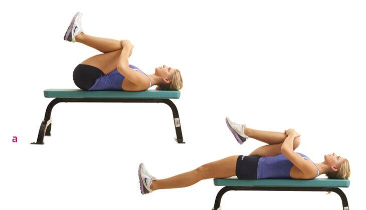 Flexibilität: Bein strecken