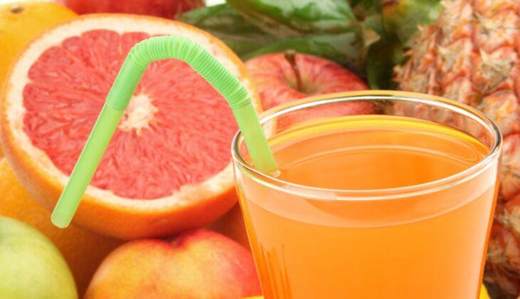 Fruchtsaft mit viel Vitamin C