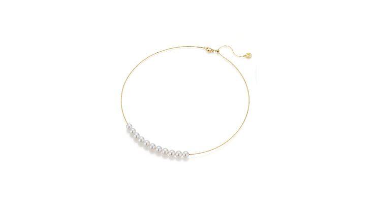Für Perlentaucherinnen: Halsreif von Yana Nesper