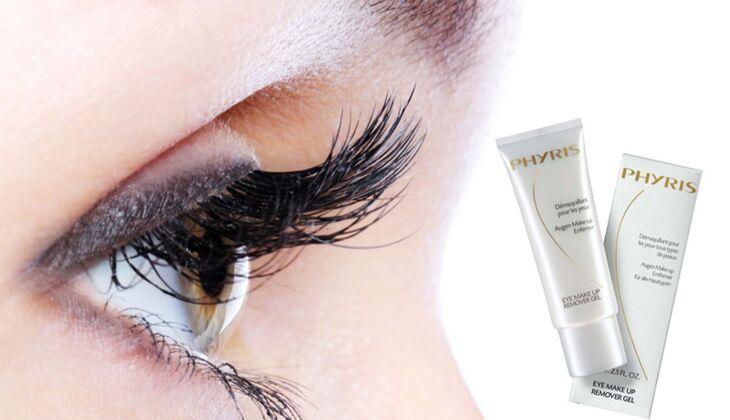 Für lange Wimpern: Phyris Eye Make-up Remover Gel