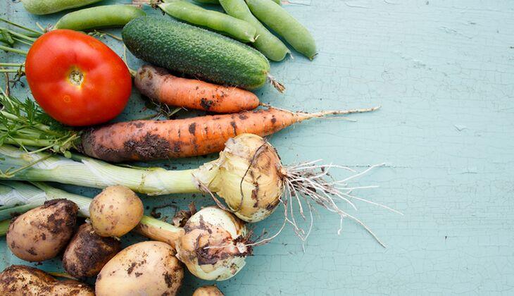Gemüse immer gründlich waschen