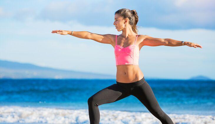 Gesund durch Yoga: Spannungen einfach wegatmen