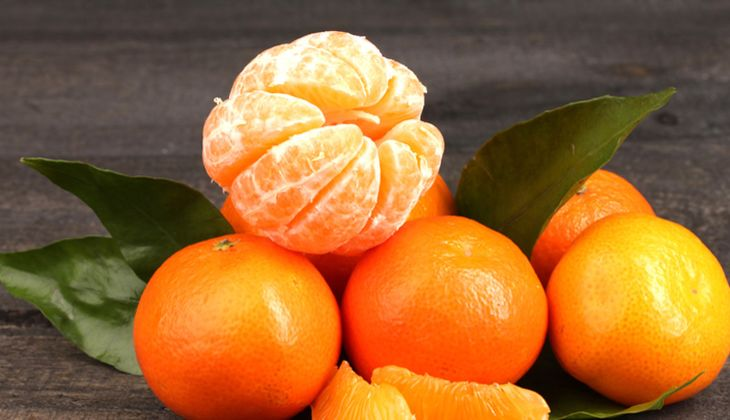 Gesunde Muntermacher: Mandarinen
