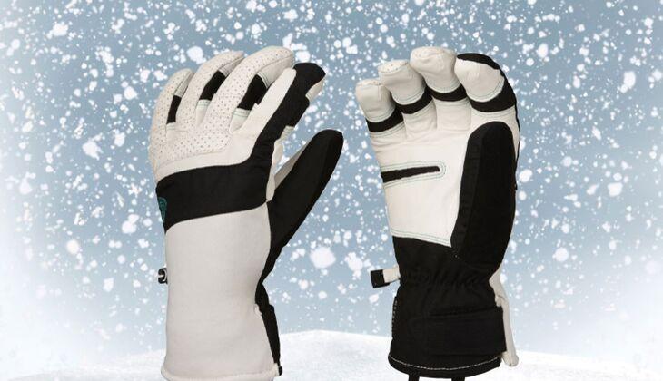Handschuhe von Mountain Hardwear, zirka 155 Euro