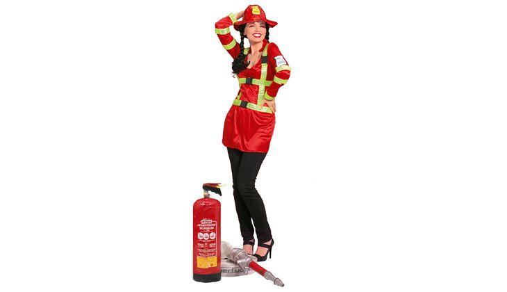 Heiße Schönheit: Feuerwehrfrau