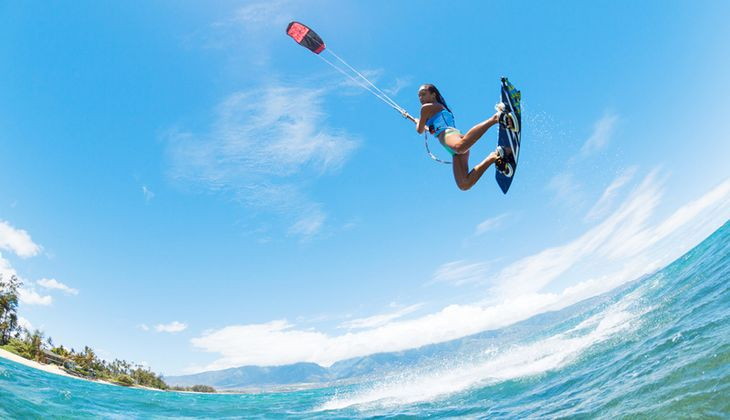 In Europa gibt es viele schöne Kitespots mit optimalen Bedingungen