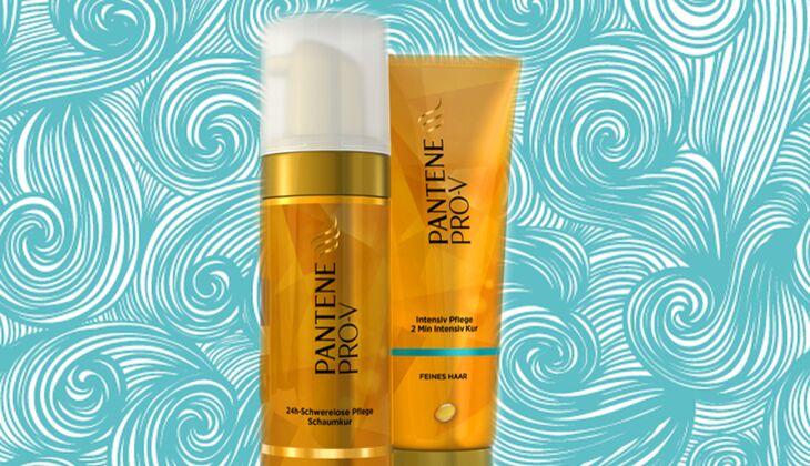 Intensivpflege für die feines Haar von Pantene Pro-V