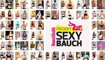 Jetzt voten! Projekt Sexy Bauch 2013: der große Vorher-Nachher-Vergleich