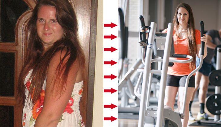 Juliane ab 18 Kilo abgenommen