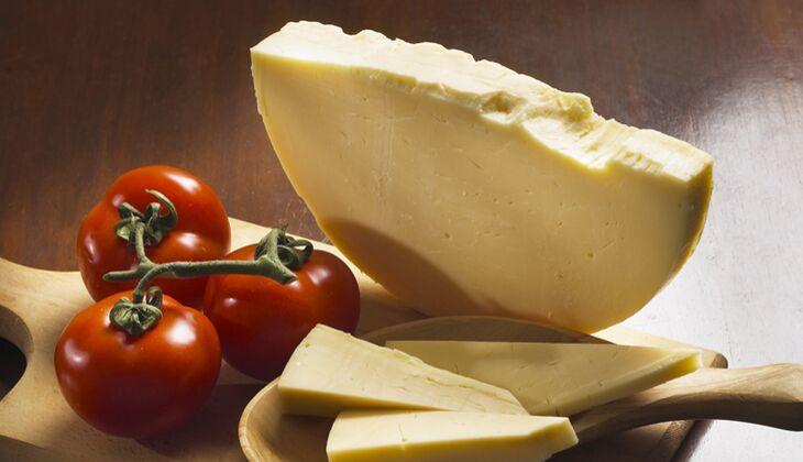 Käse im Kalorienvergleich: Provolone