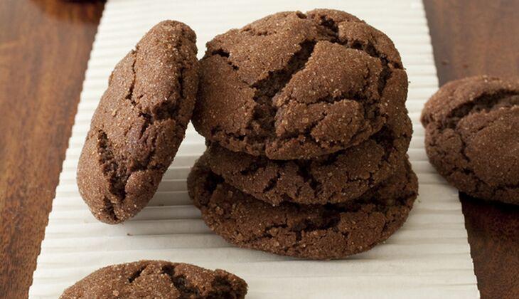 Kalorienarme Schoko-Nuss-Kekse
