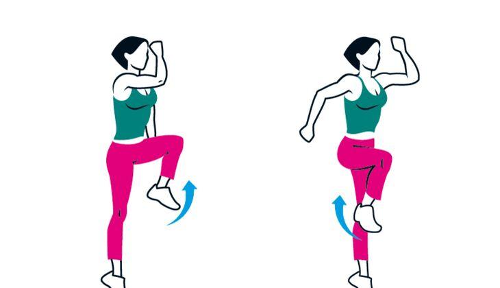 Kampf gegen das Körpergewicht: Knieheber