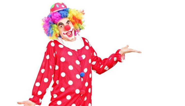 Karnevalskostüme der Männer: Clown